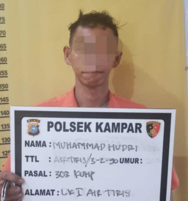 Ketahuan Jadi Pelaku, Aparat Kampar Tangkap 1 Orang Karena Togel Sie Jie